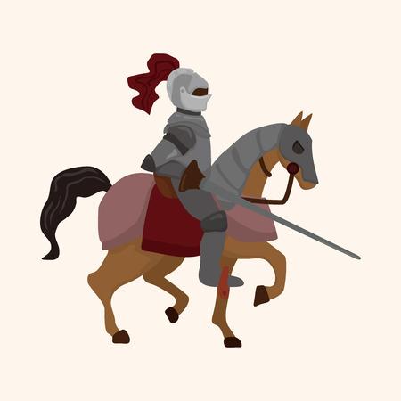 knight theme element Zdjęcie Seryjne - 37154795