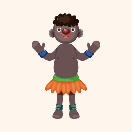 aborigines: Aborigines theme element Illustration