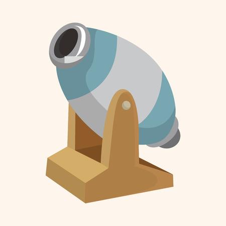 cannon theme element Vector