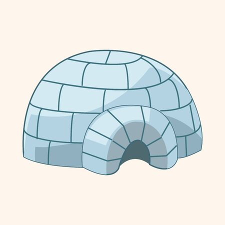 igloo: design igloo house theme element