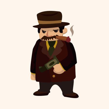 mafioso: mafia theme element