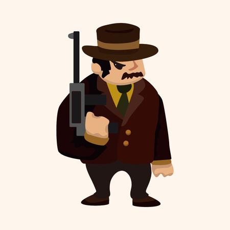 mafia theme element