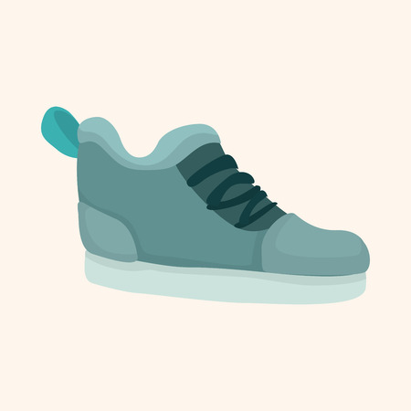 shoelaces: shoe style theme element Illustration