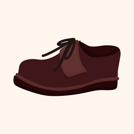 shoelaces: shoe style theme elements vector
