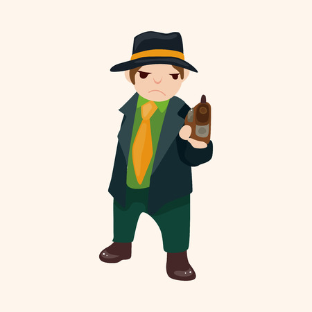 mobster: mafia theme element