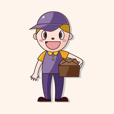 deliveryman: deliveryman theme element