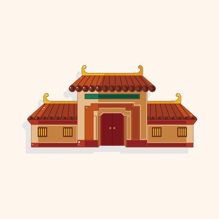 Elemento tema Edificio chino