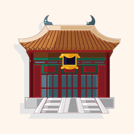 Elementos de construcción temáticos chinos