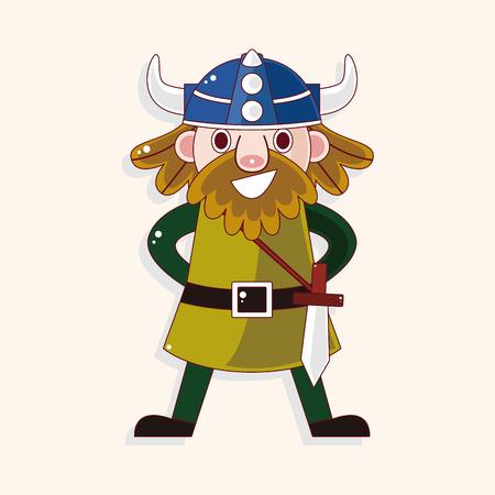 norse: viking theme element