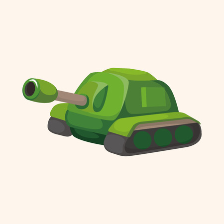 cannon ball: cannon theme elements Illustration