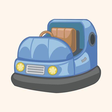 bumper: playground bumper car theme elements