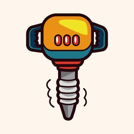 taladro electrico: Elementos del tema Taladro el�ctrico