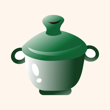 stew pot: kitchenware pot theme elements