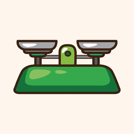 laboratory balance: Laboratorio elementi equilibrio tema