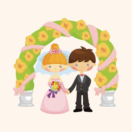 wedding couple: wedding couple theme elements