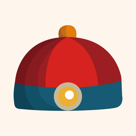 chinese hat: Chinese hat theme elements