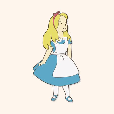 alice: alice in wonderland theme elements
