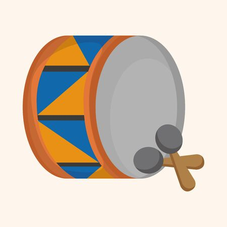 drumming: circus drum theme elements