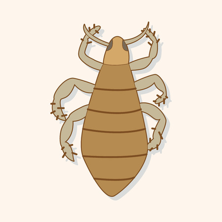 bug cartoon elements Vector