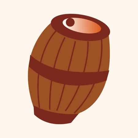 casks: pirate casks theme elements