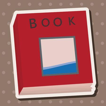 read magazine: book theme elements vector,eps Illustration