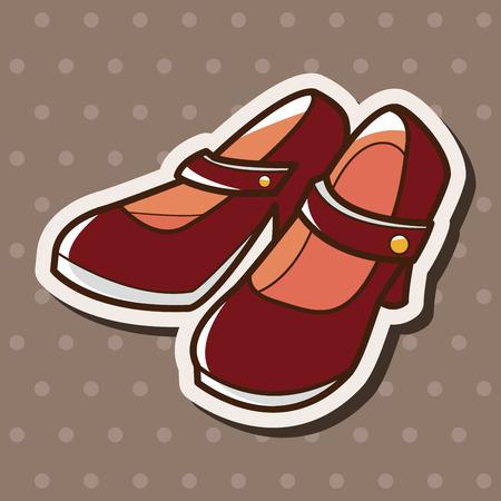 HEELS: high heels theme elements vector,eps