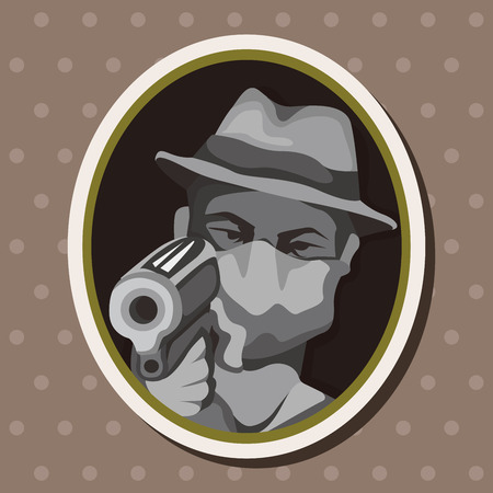 mafia theme elements