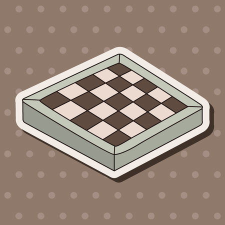 chess board theme elements