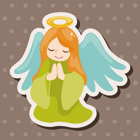 angel: angel theme elements