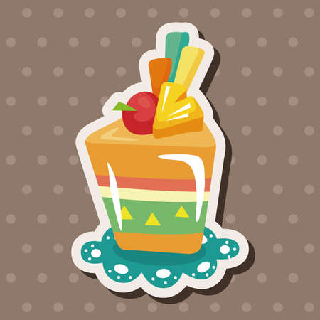 cake decorating: decorating cake theme elements