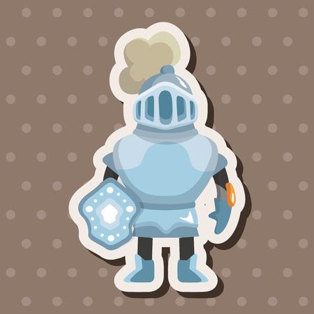chess knight: Elementos del tema de caballero