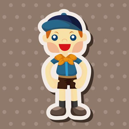 esploratori: Elementi tema Scout