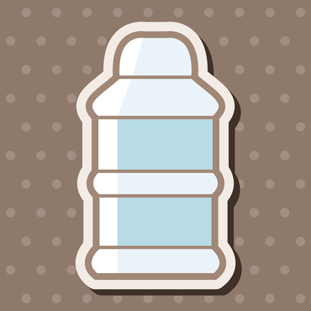 feeding bottle: Feeding bottle theme elements