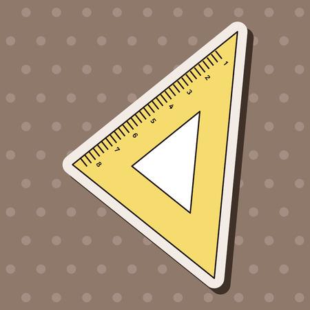 millimeter: ruler theme elements