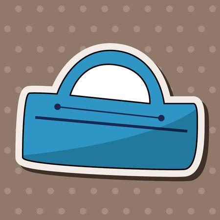 tackle box: fishing box theme elements