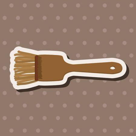 kitchenware: kitchenware spatula theme elements Illustration