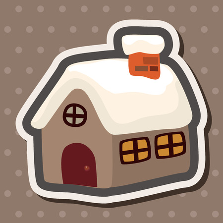 holiday villa: Gingerbread house theme elements