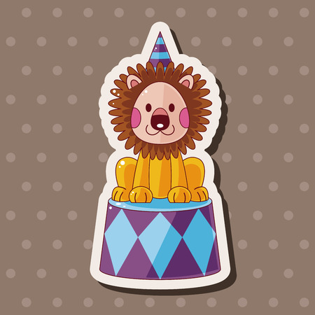 circus animal: circus animal theme elements