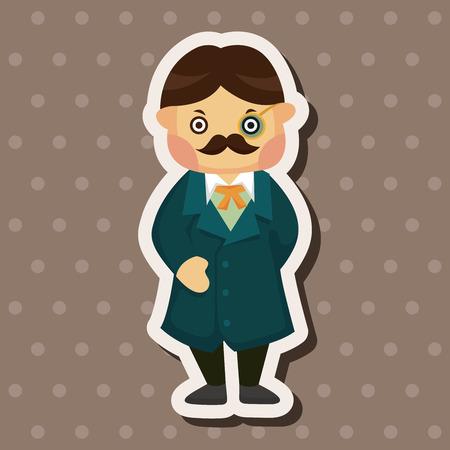 mystery man: detective theme elements