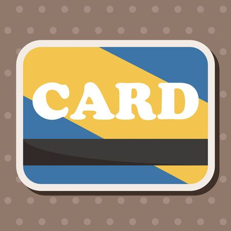 paying bills: credit card theme elements