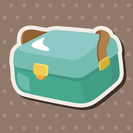bait box: fishing box theme elements
