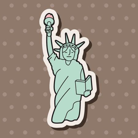 liberty statue: liberty statue theme elements