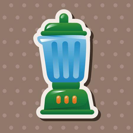 kitchenware: kitchenware juicer theme elements Illustration