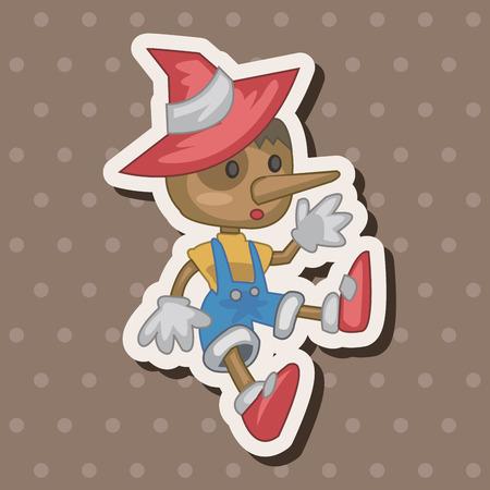 pinocchio: Pinocchio theme elements