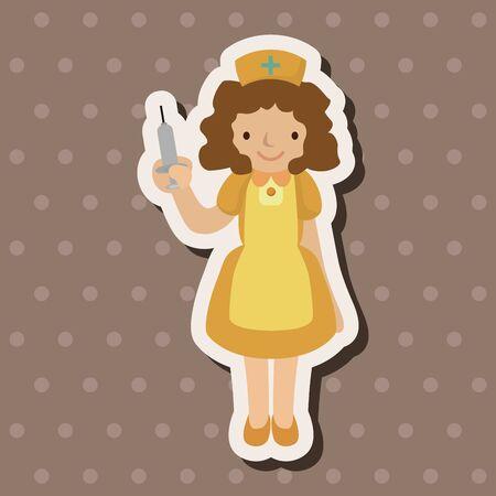 nursing uniforms: Elementos del tema de la enfermera