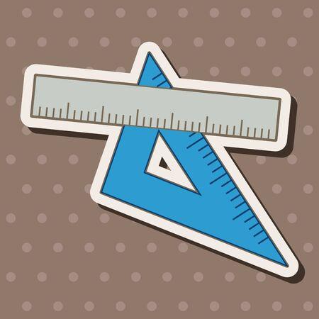 millimeters: ruler theme elements