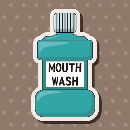 enjuague bucal: Elementos del tema de enjuague bucal