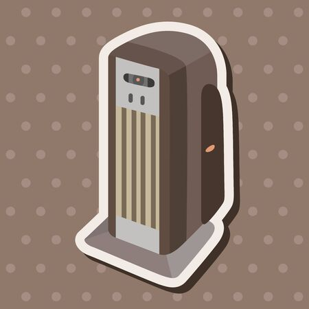 humid: Dehumidifiers theme elements Illustration