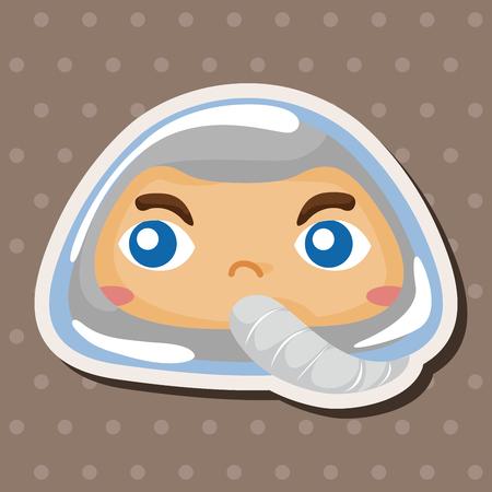 interstellar: spaceman theme elements