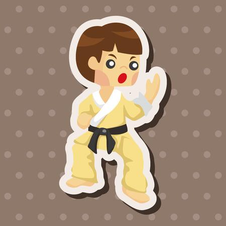 taekwondo: Taekwondo theme elements